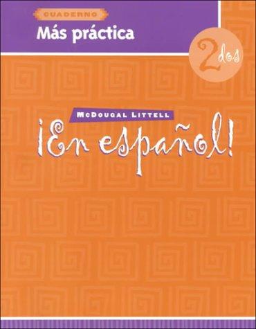 En Espanol! Mas Practica Cuaderno Level 2