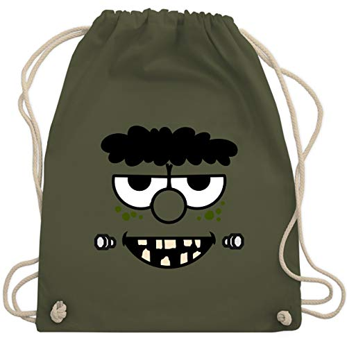 - Frankensteins Monster - Karneval Kostüm - Unisize - Olivgrün - WM110 - Turnbeutel & Gym Bag ()