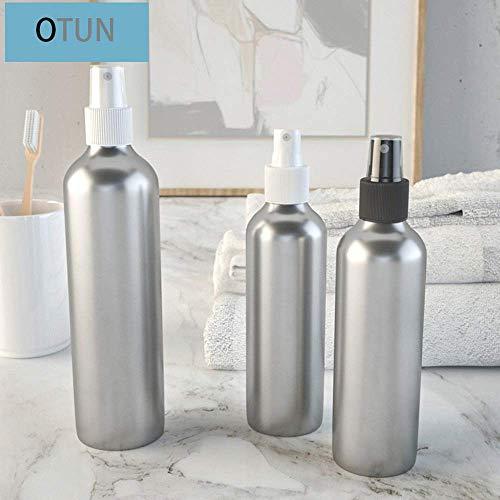 Otun 30ml + 50ml + 100ml Aluminium Flasche (3PC), Sprühflasche, Parfümflasche, Tonerflasche, Sonnenschutzspray, Kosmetikflasche