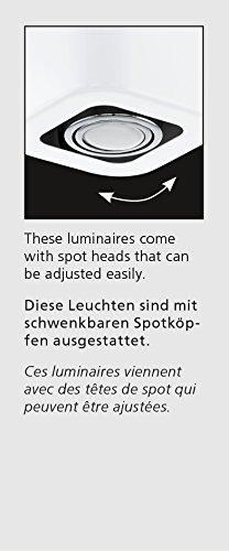 Eglo TORENO Interior Surfaced lighting spot GU10 A+ Color blanco - Punto de luz (Color blanco, Interior, Surfaced lighting spot, I, GU10, 2 bulb(s))