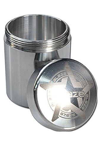 Aluminiumdose mit Schraubverschluss Alu-Dose Celtic Maze verschiedene Größen
