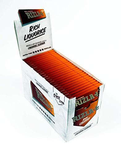 Zigarettenpapier Rizla Lakritze Zigarette Zigarettenpapier-3Notizbücher von Trendz