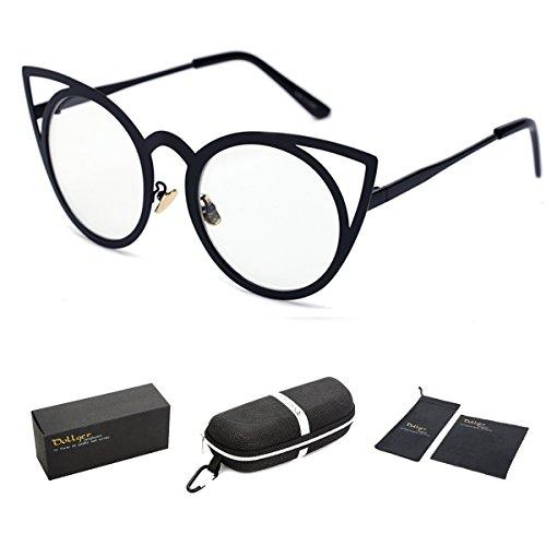 dollger-round-circle-cut-out-cat-eye-sunglasses-womens-fashionblack-gradient-lens-white-frame