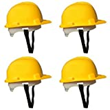#7: Directfix-Nice Safety Helmet Yellow - 4 Pcs Combo || With Chin Line Up & Back Adjustment Strap || Hard Hat || || Exclusive Price ||