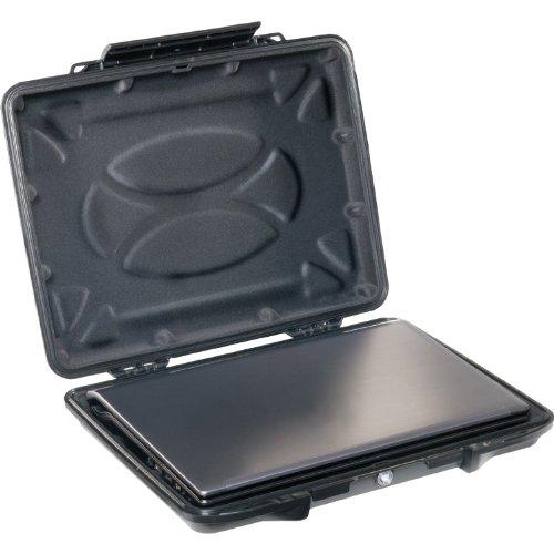 PELI Laptop Hardback Case Mod. 1085 schwarz mit Schaumstoff Hardback Case