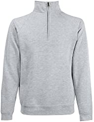 Fruit Of The Loom - Sweatshirt à fermeture zippée - Homme