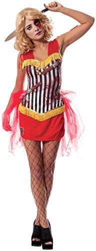 Rubie´s Offizielles Damen Thrower 's Assistant Circus Zombie, Erwachsene Kostüm-Große (Circus Kostüme Für Erwachsene)