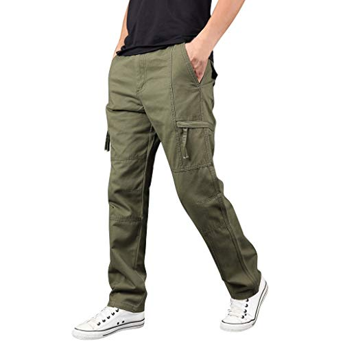 BURFLY Sommer Mode Herren Freien Multi-Pocket Overalls Straight Hosen Schnell Trocknende Atmungsaktive Sporthose Männer Casual Sporthosen (Batman Lego Mann Kostüm)