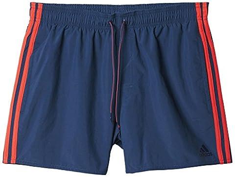 adidas 3-stripes Vsl Short de bain Homme Bleu FR :