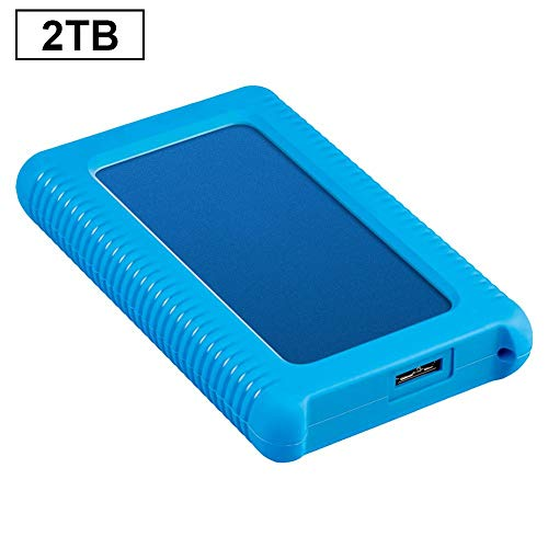 NAKELUCY 2.5 Inch External Hard Drive, USB3.0 500GB 1TB 2TB SSD Portable Mobile High Speed SATA3.0 6Gb Transmission Solid State Hard Disk -
