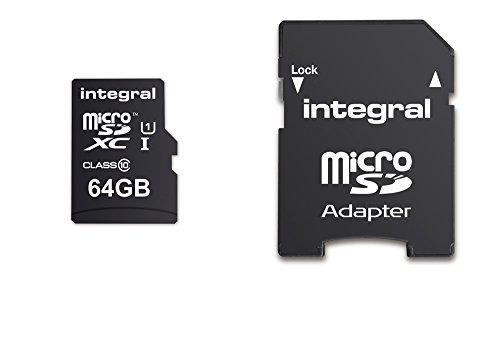 Integral 64GB Micro-SDXC-Speicherkarte für Samsung Galaxy S8