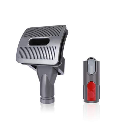 Outil AIEVE Groom pour aspirateur Dyson,attache brosse pour animal de compagnie,chien,animal de compagnie,pour aspirateur Dyson V11 V10 V8 V7 V6 avec adaptateur de convertisseur à dégagement rapide