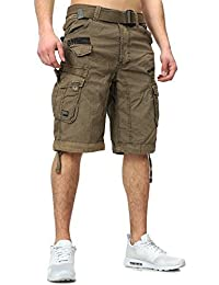 Shorts Geographical Norway Shorts pour Hommes hommes Sweatshorts Shorts cargo Bermudas