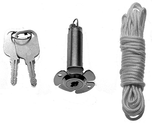 Hörmann 437149 Notentriegelung NET3, 13mm, 1,5m Seil, f.doppelw. Sec-Tore (Sektionaltore Zubehör)