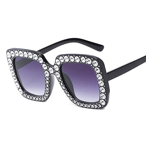 SENCILLO Damen Sonnenbrille Wayfarer Mirrored Metallrahmen 100% UV Schutz Driving Polarized Sunglasses (5)