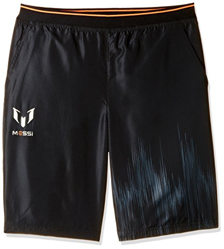 adidas Boys' Shorts (AK1613_BLACK/SOLRED-116_5-6 years)  available at amazon for Rs.494