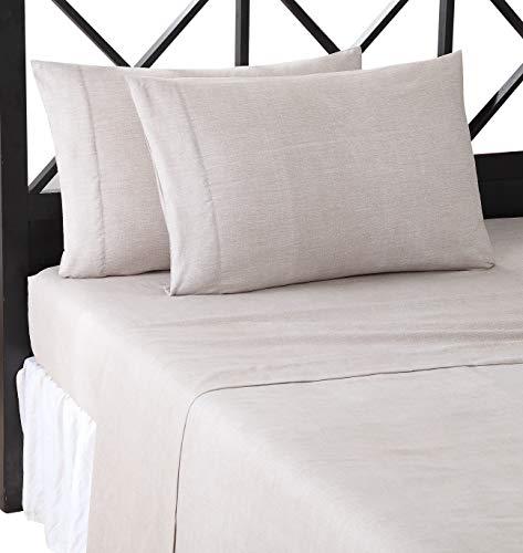 Lemon & Spice Geo Lines Bettwäsche-Set für Doppelbett, sehr weich, Pink - Spice Bettwäsche