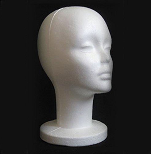 Preisvergleich Produktbild mingxiao DAME Styroporkopf Perückenkopf Dekokopf Modellkopf Hutständer Kopf Deko