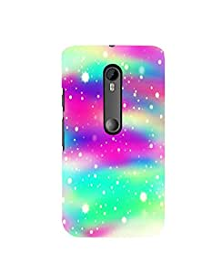 Citydreamz Cool Blue\White\Pink Hard Polycarbonate Designer Back Case Cover For Motorola Moto G T/ Moto G Turbo Edition