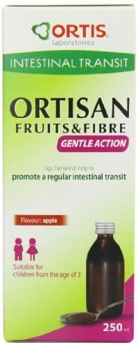 Ortis 250ml Ortisan Fruits and Fibre Kids Syrup PL by BBI Healthcare Ltd