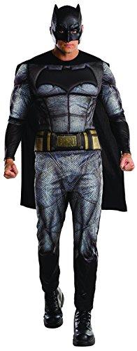 fasching batman Rubie's 3810841 - Batman, Erwachsenen Kostüm, schwarz/grau
