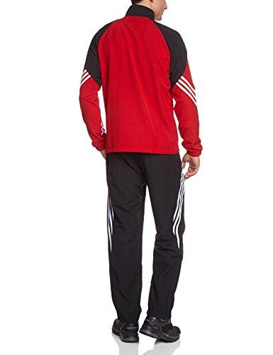adidas Kinder Trainingsanzug Sereno 14 Sun/Black/Wht