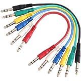 Adam Hall 3 Star Series - Cable alargador (conector 6,3 mm estéreo, 0,6 m)