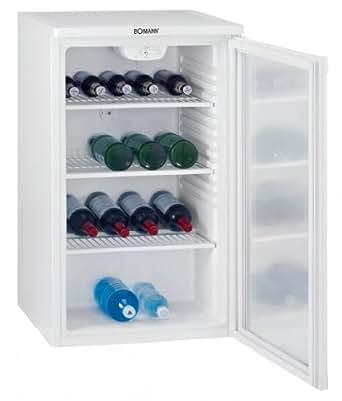 Bomann KSG 232 Flaschenkühlschrank / 193 kWh/Jahr / 110 L / weiß ... | {Getränkekühlschränke 19}