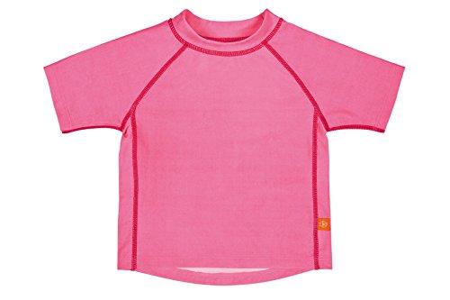 Lässig Splash & Fun Short Sleeve Rashguard / Baby Badeshirt / UV-Schutz 50+ girls, S / 6 Monate, light pink Pink Mit Einem Splash