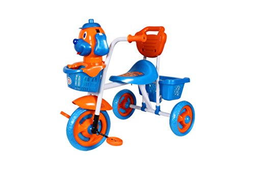 HLX-NMC KIDS SCOOBY PUPPY TRICYCLE BLUE/ORANGE  available at amazon for Rs.1299