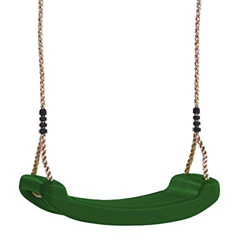 Preisvergleich Produktbild WICKEY Kinder-Schaukelsitz Gartenschaukel Kinderschaukel Kleinkindschaukel Schaukelbrett, dunkelgrün