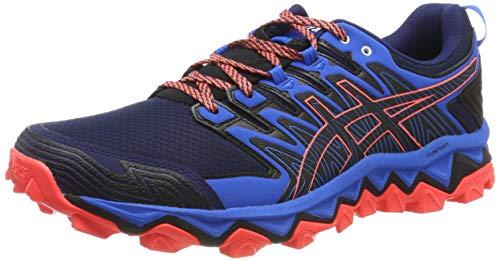 ASICS Mens Gel-Fujitrabuco 7 Trail Running Shoe, Navy, 43.5 EU