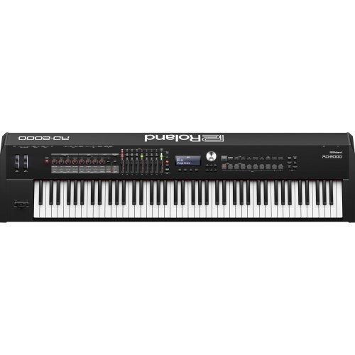 Roland rd-200088Keys Black Digital Piano–Digital Pianos (23W, 1412mm, 367mm, 140mm, 21.7kg, LCD)