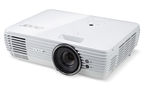 Acer H7850 3000 ANSI Lumens DLP 2160p Desktop Data Projector - White