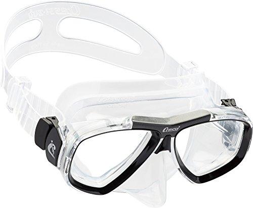 Cressi Focus - Professional Erwachsene Tauchmaske aus High Seal - Optionale Optische Gläser Erhältlich