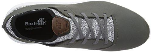 Boxfresh Ceza Sh Lea/Marl STL Gry, Sneaker Basse Uomo grigio (grigio)