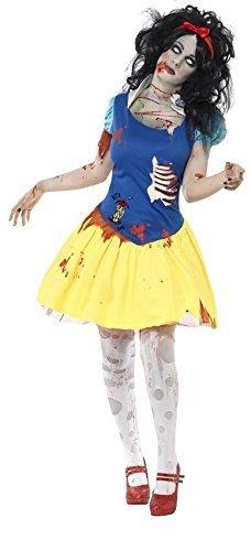 Weiß Twisted Märchen Halloween Kostüm Outfit (Dressing Up Outfits Für Erwachsene)