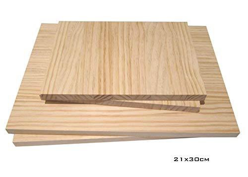 Massivholzplatte  <strong>Geeignet für</strong>   Innenausbau, Möbelbau, Werkbankplatte