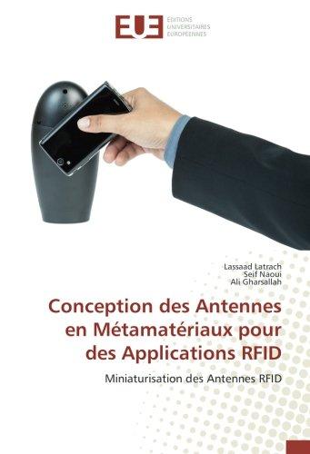 Conception des Antennes en Métamatériaux pour des Applications RFID
