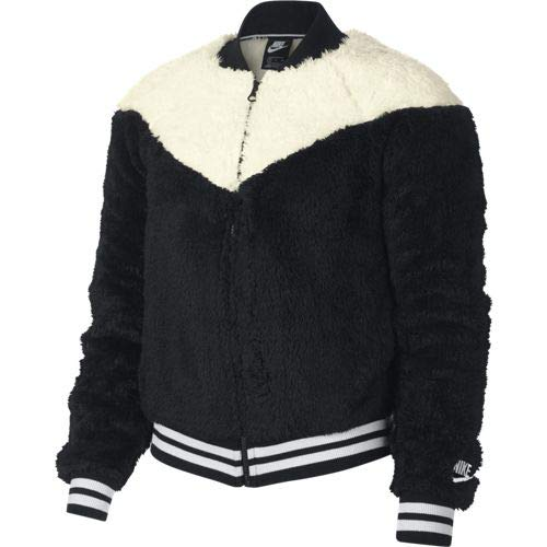 Nike Bomber Wolf Jacke Damen, Black/Sail/White, M