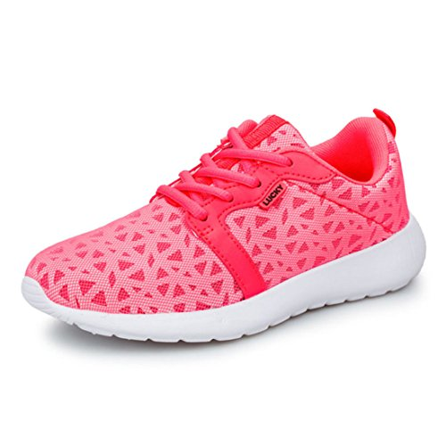 Men's Air Mesh Breathable Athletic Running Shoes pink