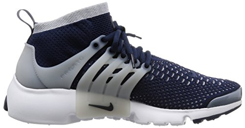 Nike Air Presto Flyknit Ultra, Scarpe da Corsa Uomo, Blu, 42 EU Blu (College Navy / College Navy-Wolf Grey)