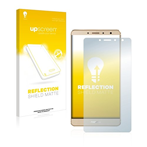 upscreen Reflection Shield Matte Tecno Phantom 6Plus Matte Screen Protector 1pc (S)-Screen Protectors (Matte Screen Protector, Tecno Phantom 6Plus, Scratch Resistant, Transparent, 1PC (S))