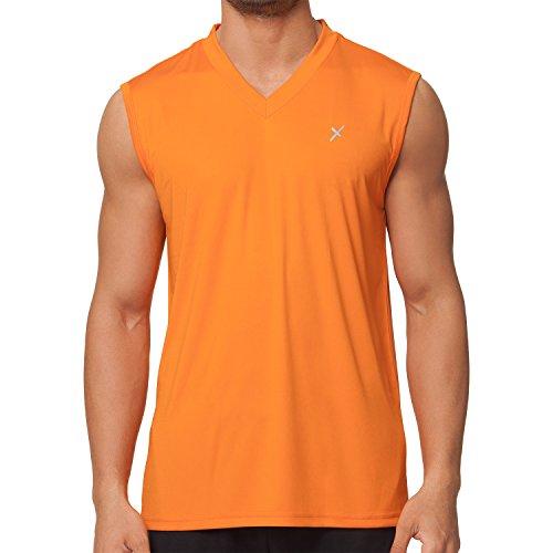 CFLEX Men Sportswear Collection - Muscle-Shirt Orange M
