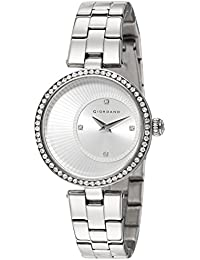Giordano Analog Silver Dial Women's Watch - A2056-11