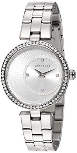 Giordano Analog Silver Dial Women's Watch - A2056-11