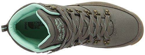 The North Face - Hedgehog Hike Goretex, Stivali a metà gamba con imbottitura pesante Donna Multicolore (Marrone/Morelbrn/Surfgn)