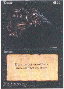 Magic: the Gathering - Terror - Terrore - Fourth Edition