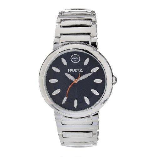 Philip Stein Men's F36S-B-EXB Quartz Stainless Steel Black Dial Watch