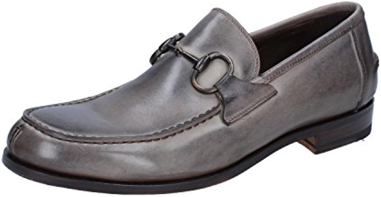 Calpierre Herren Mokkasins Grau grau  Billig und erschwinglich Im Verkauf